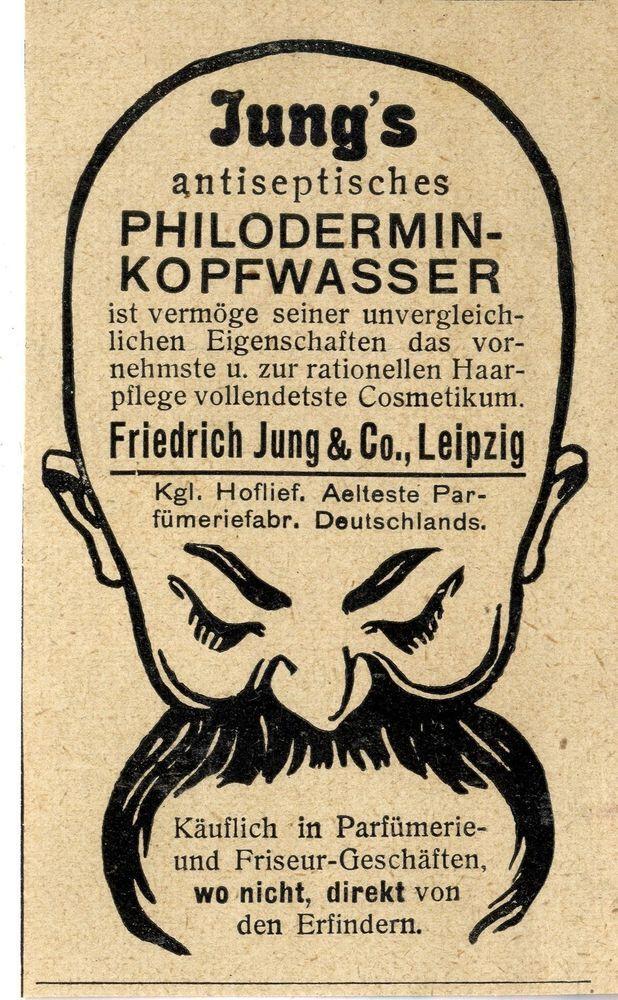 älteste Parfümfabrik Deutschlands Jung Co Leipzig Philodermin