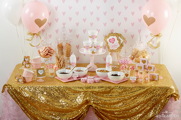 How To Throw The Cutest Pink And Gold Baby Shower