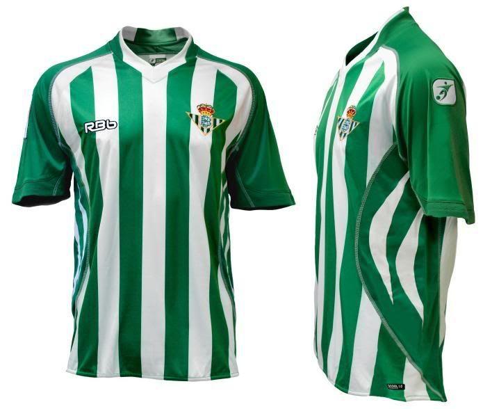 ee2d8ddb4 Real Betis Balompie home kit 2009-10   ¡¡¡ BETISSSS !!!   Betis y ...