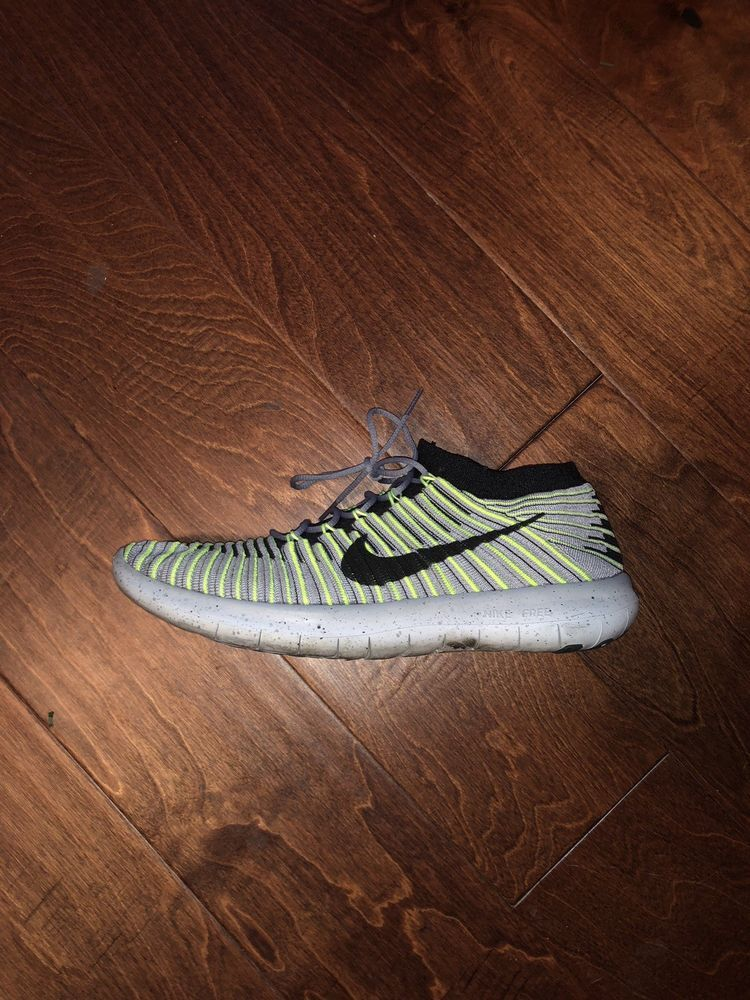 abf2b837ca1 Nike Free RN Motion Flyknit Mens Running Wolf Grey Black-Volt 834584-007  Size 9  fashion  clothing  shoes  accessories  mensshoes  athleticshoes  (ebay link)