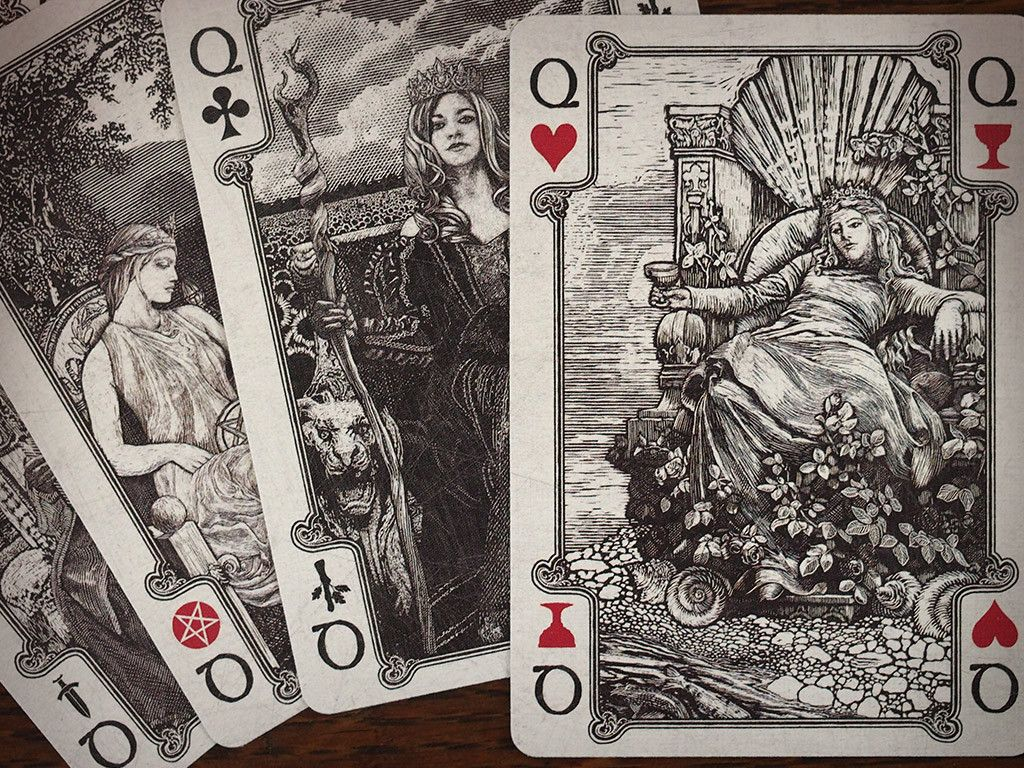 Arcana Tarot Playing Cards Light | Dead On Paper