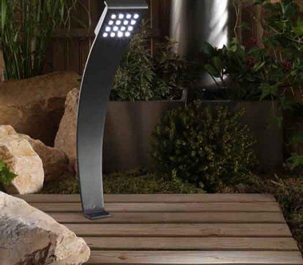 Borne lumineuse à poser au sol OLYMPUS, garden lights Eclairage de