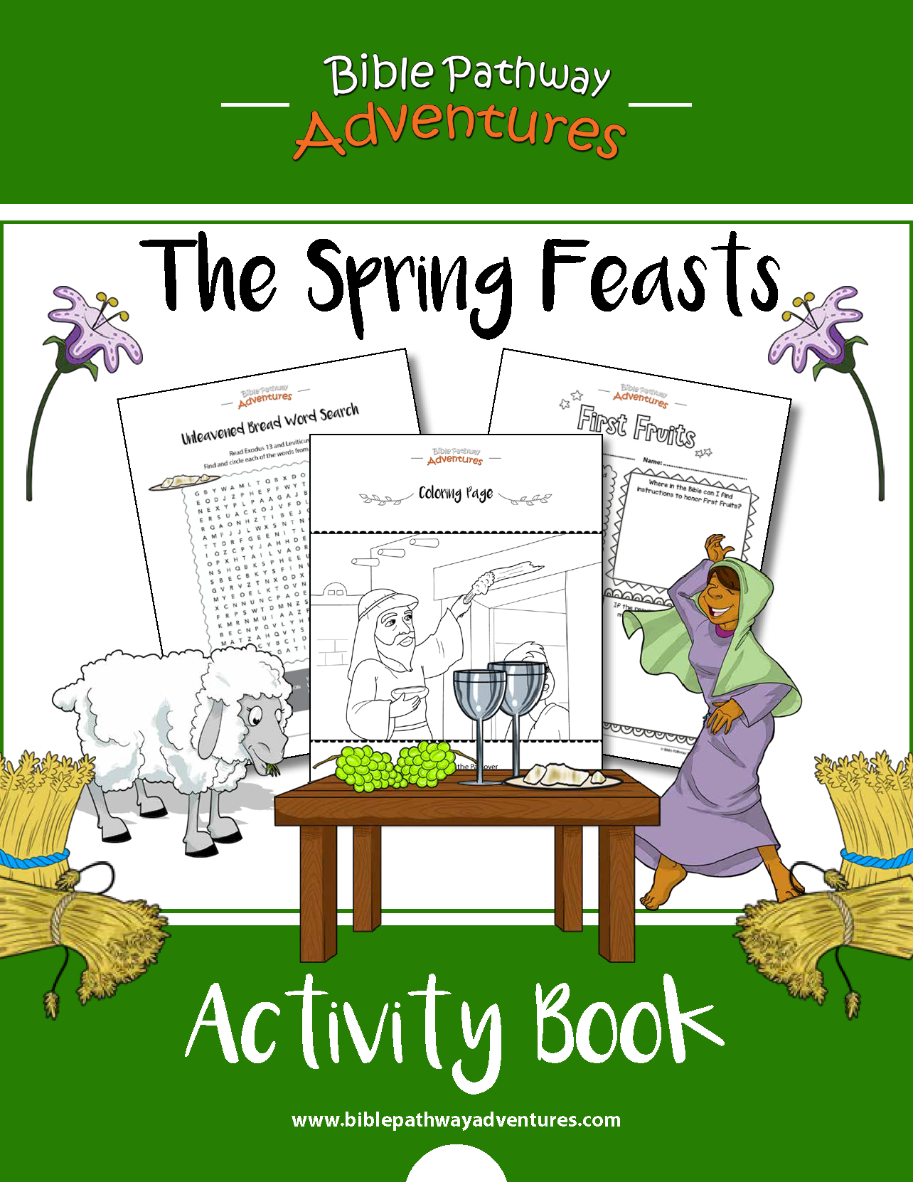 Spring Feasts Activity Book