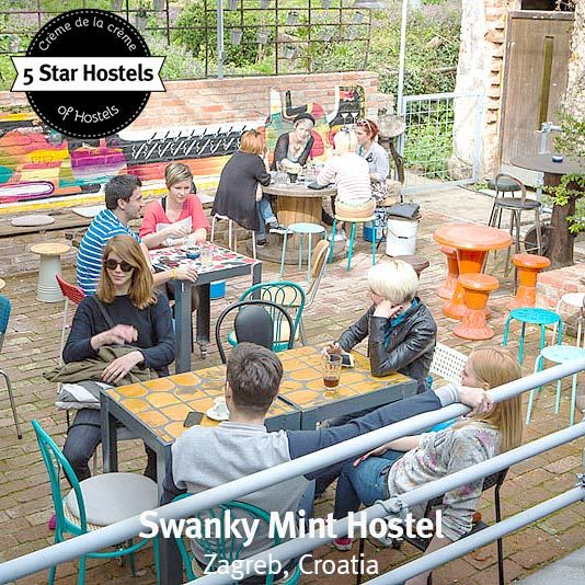 Swanky Mint Your Summer Hostel In Zagreb Former Dry Cleaning Zagreb Hostel Croatia