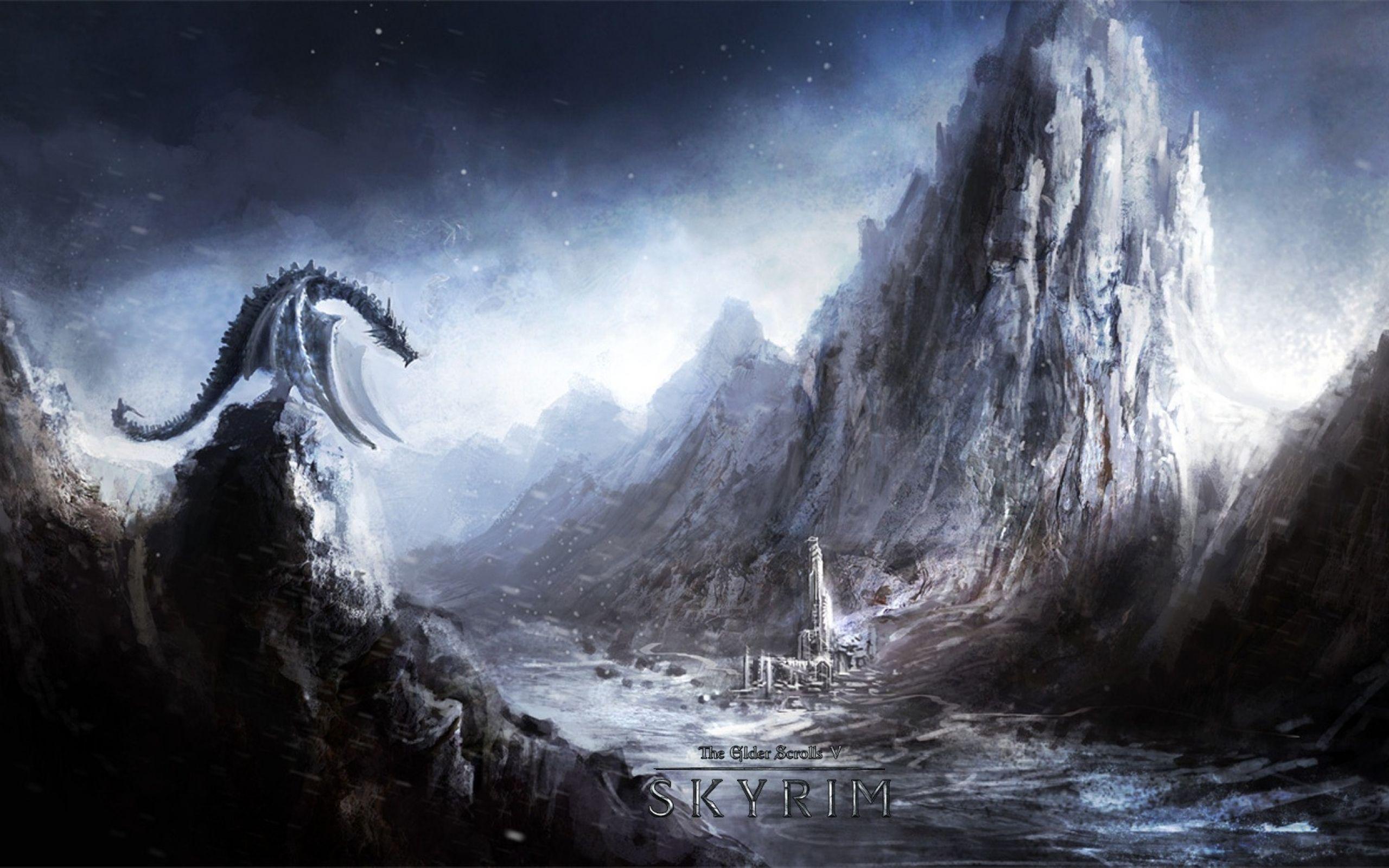 Skyrim Dragon Wallpapers Skyrim Wallpaper Skyrim Art Elder Scrolls Skyrim