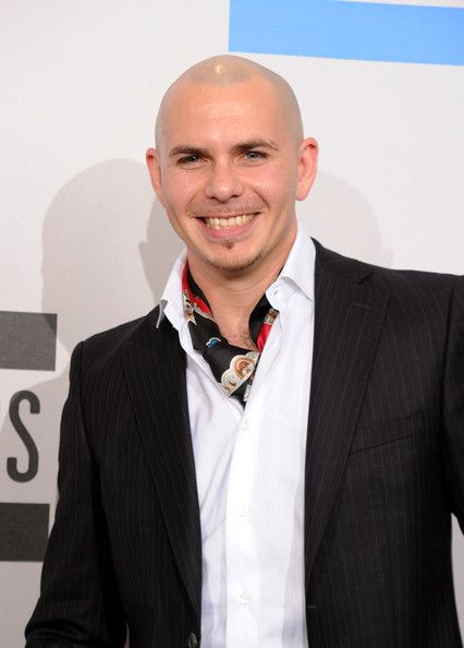 c3450583e97 Pitbull in 2010 American Music Awards - Press Room in 2019