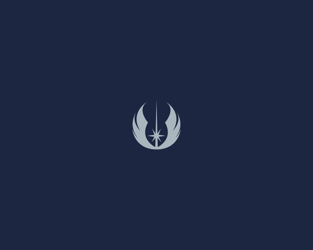 Minimalist Star Wars Wallpaper Jedi Emblem Star Wars Wallpaper Iphone Wallpaper Stars Star Wars Characters Poster