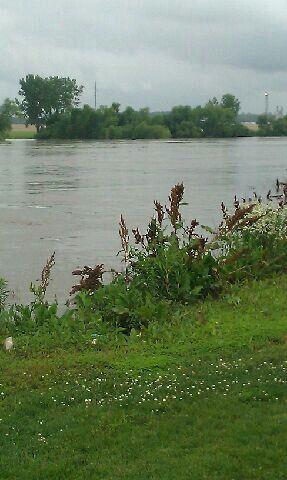 Platte River is high