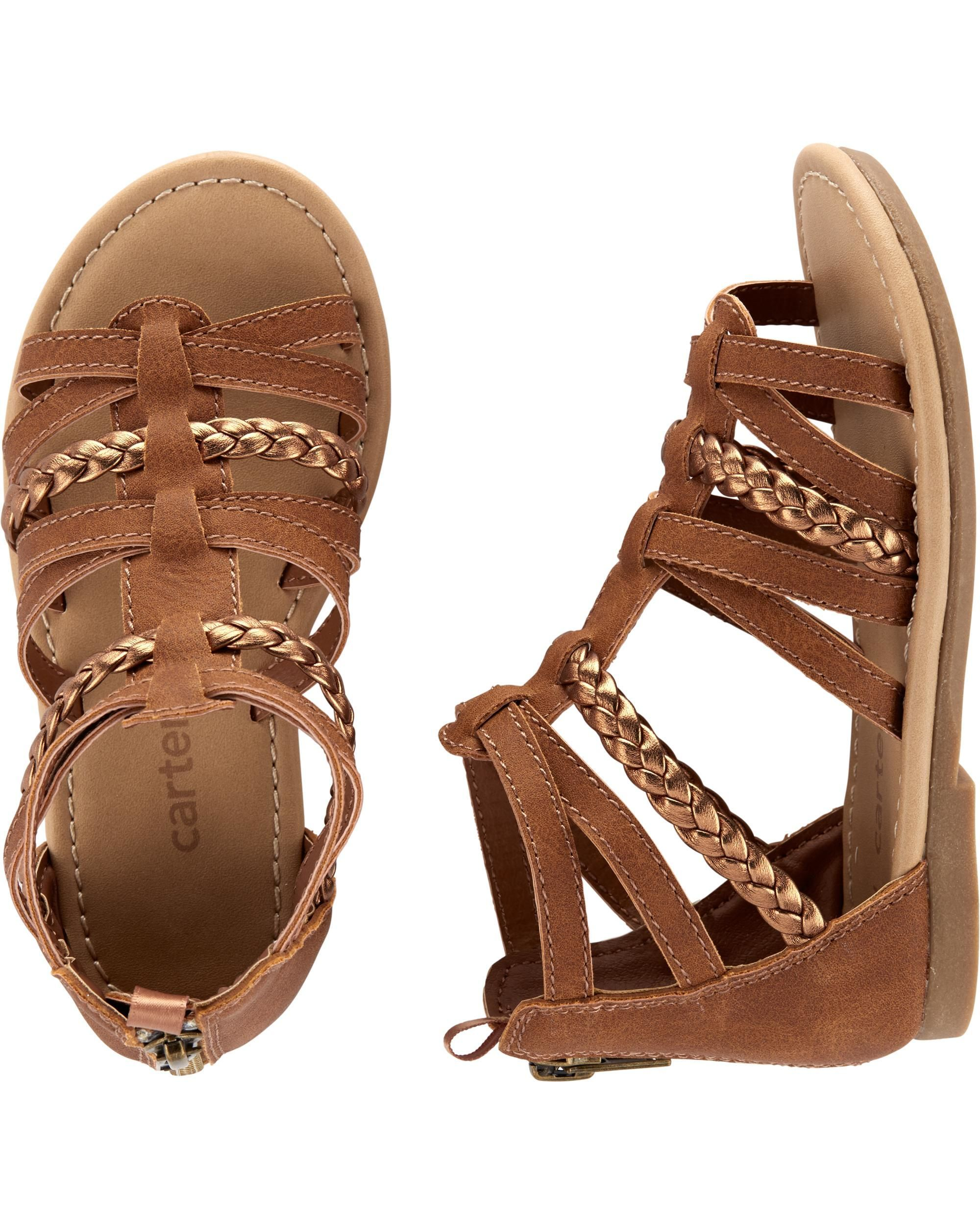 cab085a2e15 Baby Girl Carter s Gladiator Sandals