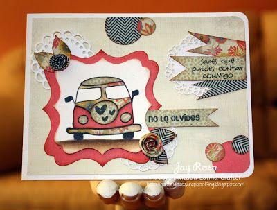 Latina Crafter - Sellos en Español: Retro: Inspiración con el Equipo de Diseño