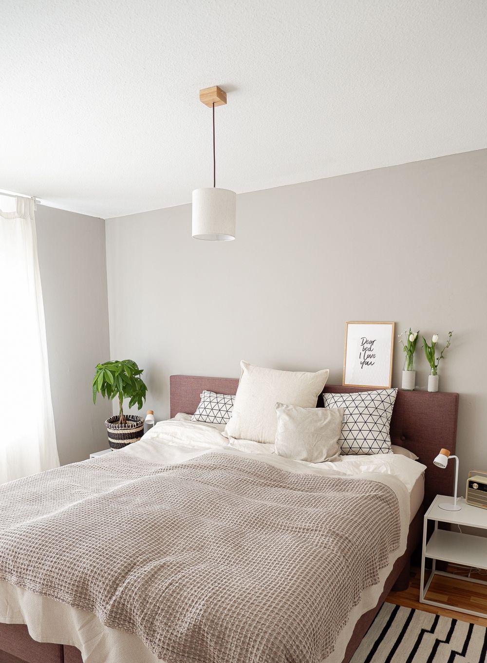 Edelmatte Wandfarbe für neuen Schlafzimmer Look – sophiagaleria