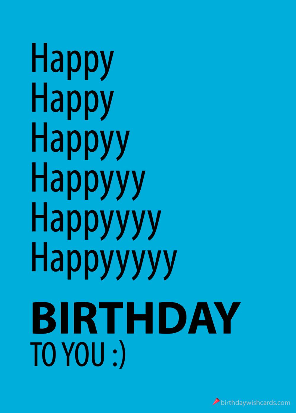 happy happy birthday ecard. Beautiful free happy birthday images