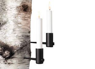 Pipe, Metal Candleholder Horizontal, 2 Pack