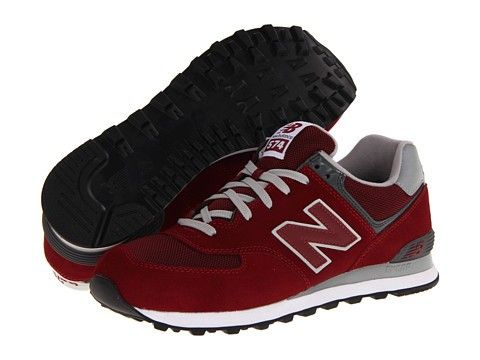 Womens Athletic Shoes new balance red crimson classics wl574 new mn4x28a3