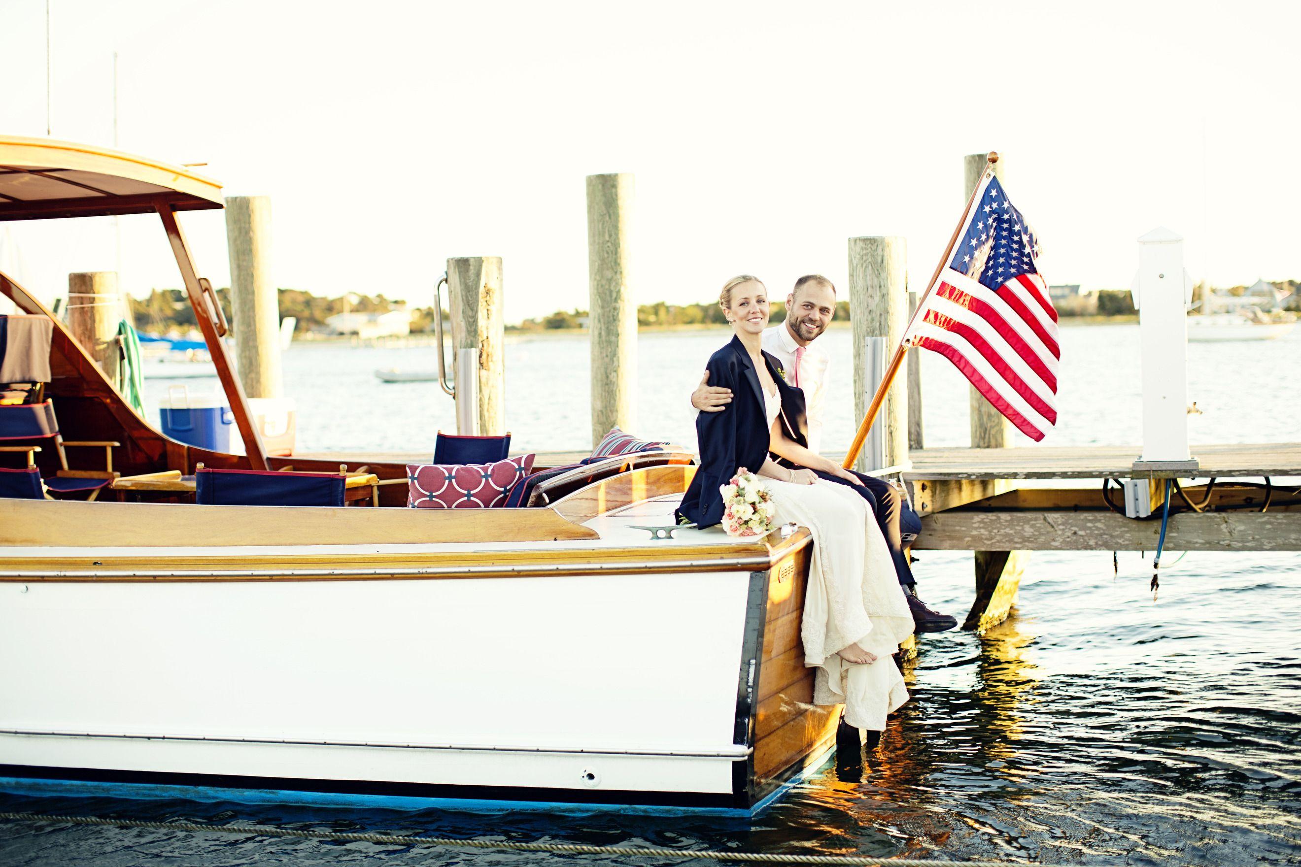 Nautical Martha's Vineyard Wedding at Edgartown Yacht Club