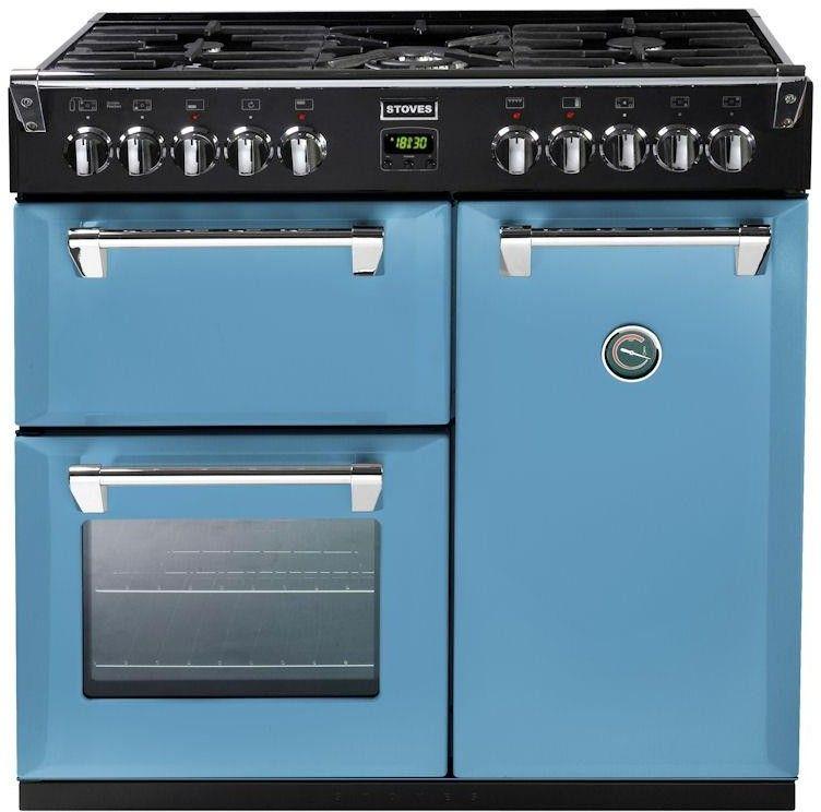 Stoves Richmond 900DFT Colour Boutique 90cm Dual Fuel Range Cooker Day's Break