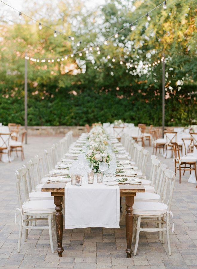 Al Fresco Summer Wedding