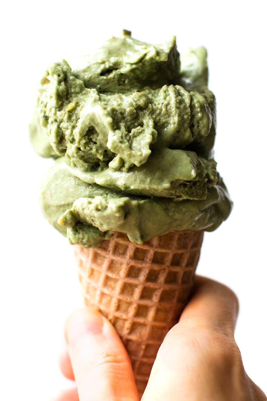 No Churn Vegan Pistachio Ice Cream Recipe Ice Cream Recipes Vegan Ice Cream Recipe Cream Recipes