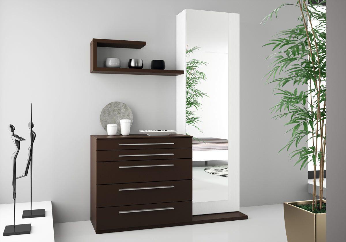 Gal n con espejo by muebles hermida decoracion pinterest - Hermida muebles ...