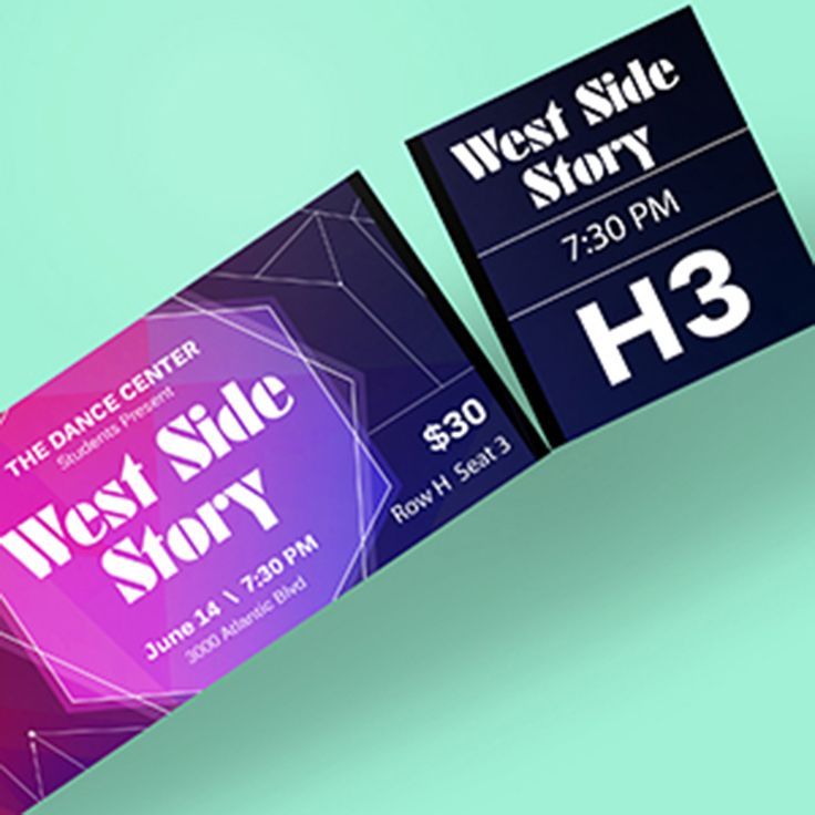 make your own custom printed tickets for your next big event they