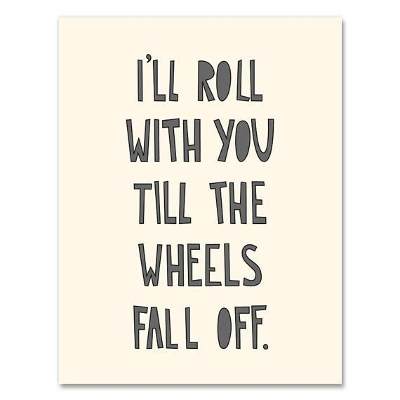 To my hubby! Would be a cute sign for the bedroom. Or the garage. :)