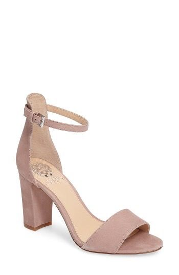 c9c923bf39bf Love the blush color. Appreciate the trend toward a more block heel. Vince  Camuto at Nordstrom.