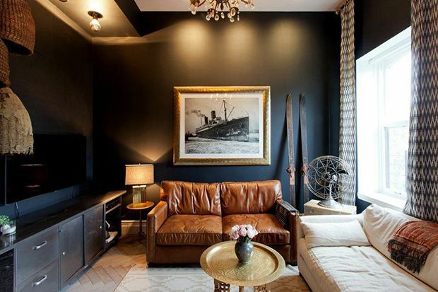 Personalize Your Space With 8 Tips From Genevieve Gorder Home Decor Room Decor For Men Black Living Room