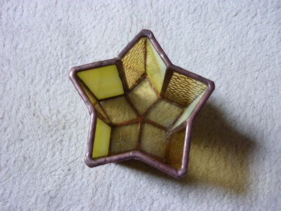 candle holder.star shape box.