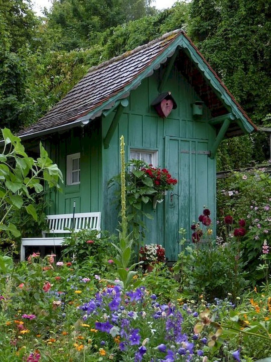 06 Fresh Cottage Garden Ideas For Front Yard And Backyard Inspiration Cottage Garden Sheds Cottage Garden Cottage Garden Design