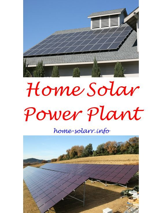Solar Panels For Your Home >> Solar Power On Roof Of House How To Make A Homemade Solar