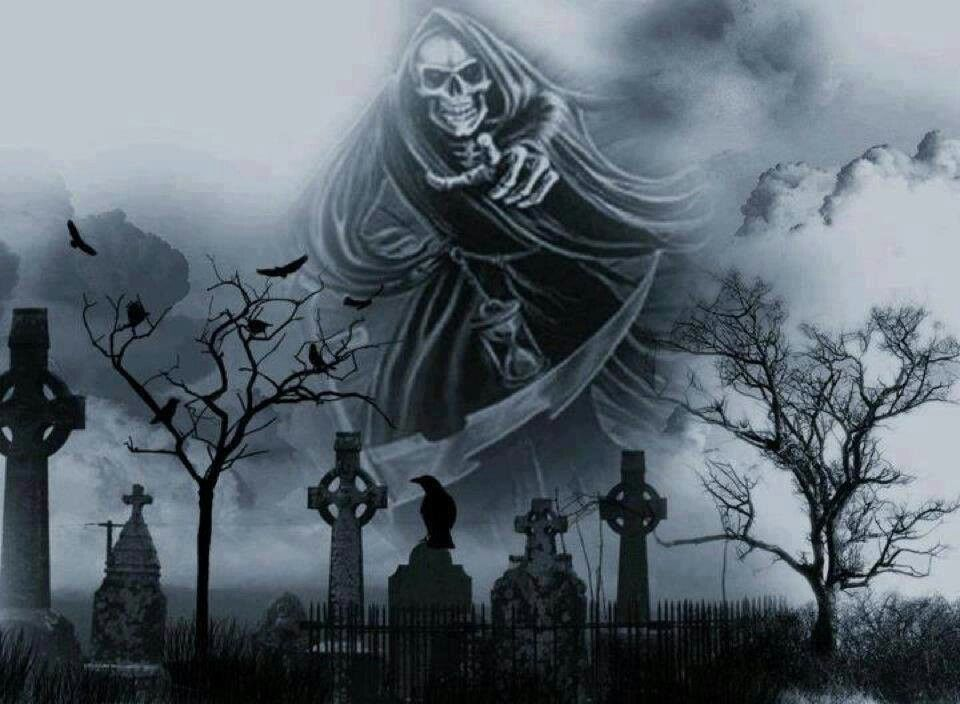 Pin by nitewitch on Skulls | Gothic images, Grim reaper ...
