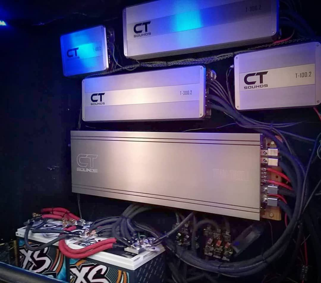 now they just need a few more 4xspower batteries to power all these beautiful amplifers follow ctsounds shop at www ctsounds com ctsounds caraudio  [ 1080 x 951 Pixel ]