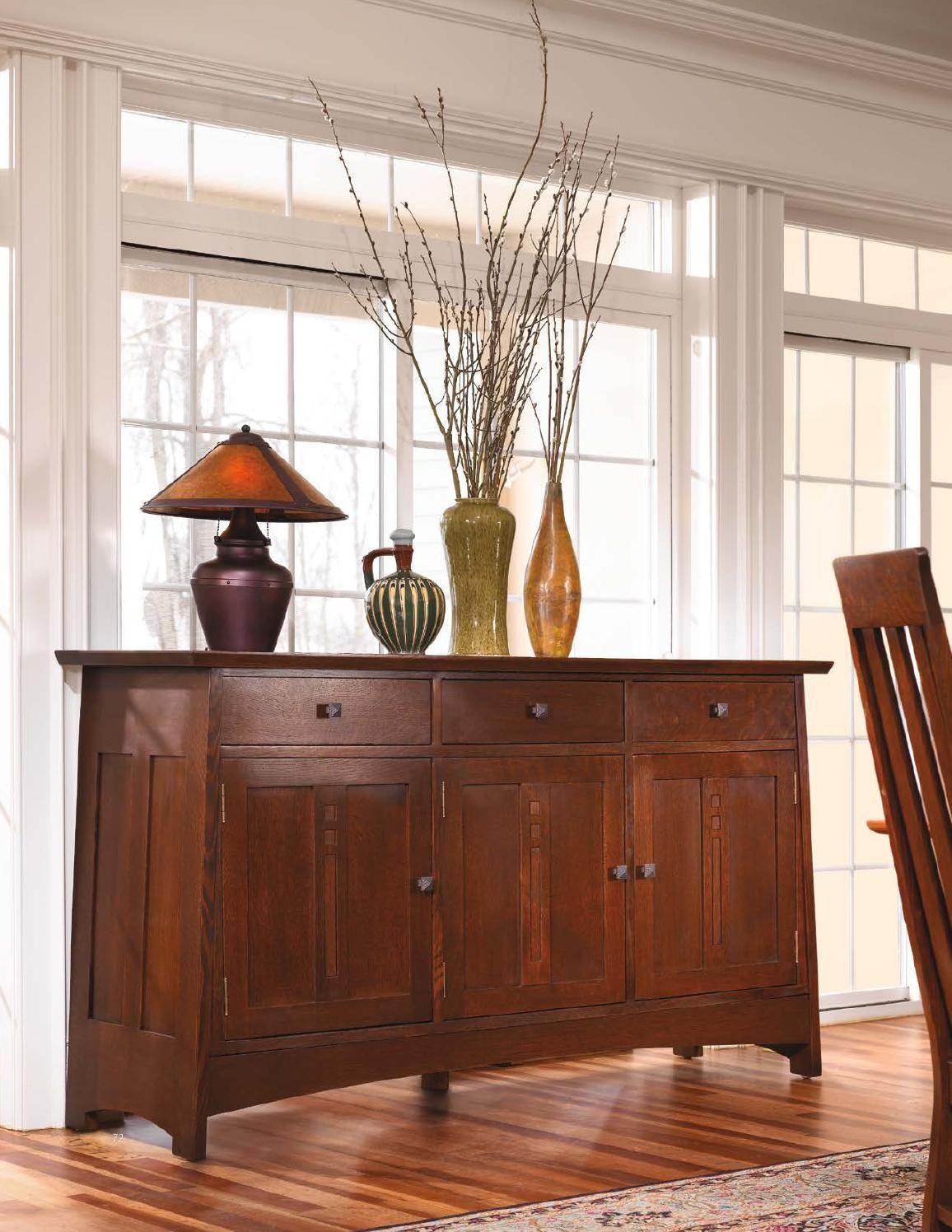 Stickley Mission Oak U0026 Cherry Collection. Craftsman Style FurnitureMission  ...