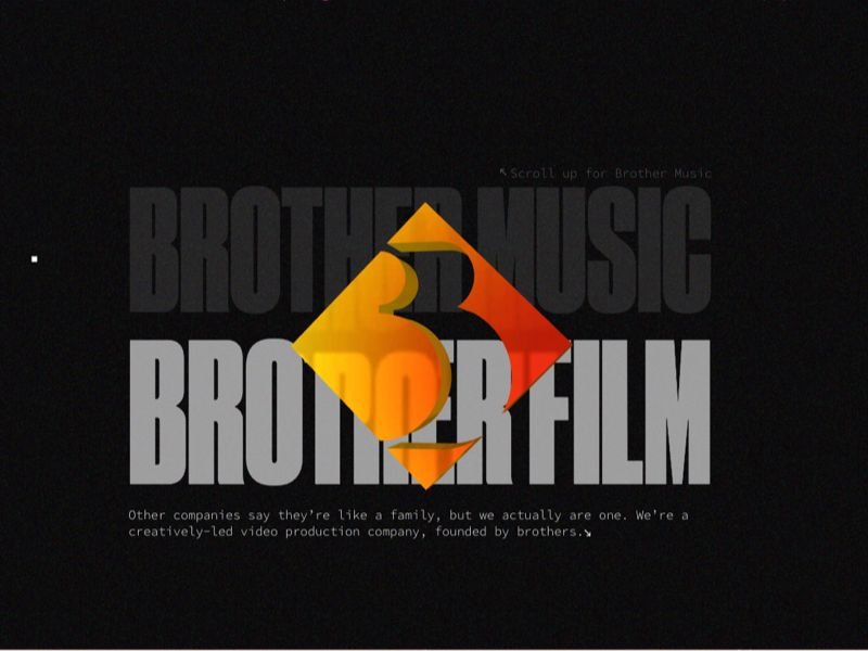 Brother Film In 2020 Video Production Company Brother Company Logo