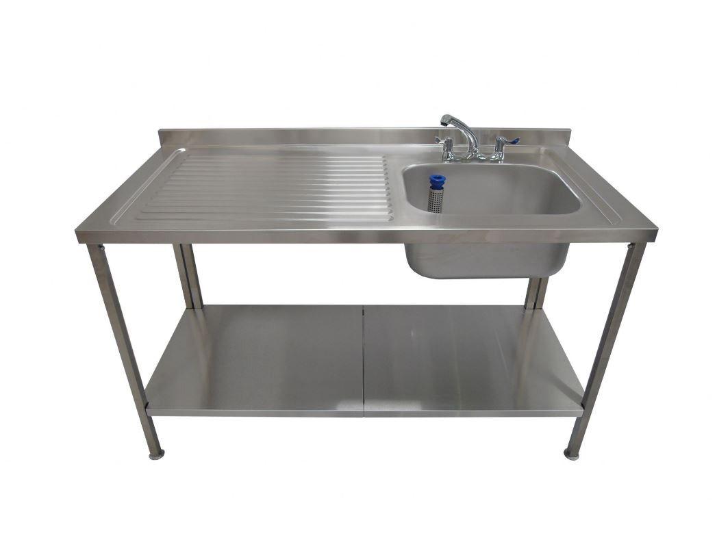 SML Stainless Steel Sink - Left Hand Drainer - 1500mm | Kitchen ...
