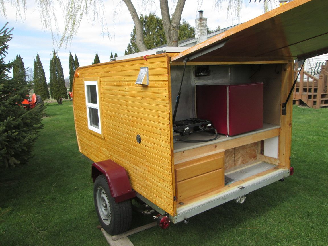 Wayne's Awesome $1000 DIY Wooden Teardrop Trailer | Camper/trailer