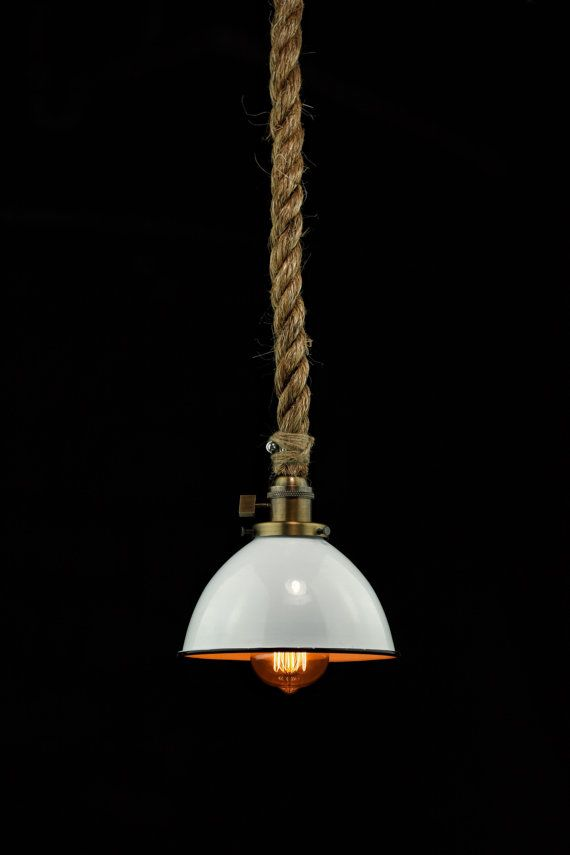 the barn pendant light industrial rope light by