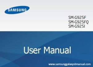 Download Samsung Galaxy S6 and S6 Edge Manual, User Guide