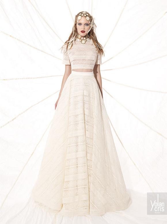 vestido de novia 2 piezas - buscar con google | vestidos de novia