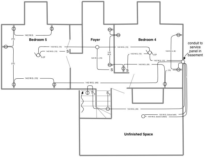 House wiring diagrams diagram pinterest residential electrical house wiring diagrams asfbconference2016 Image collections
