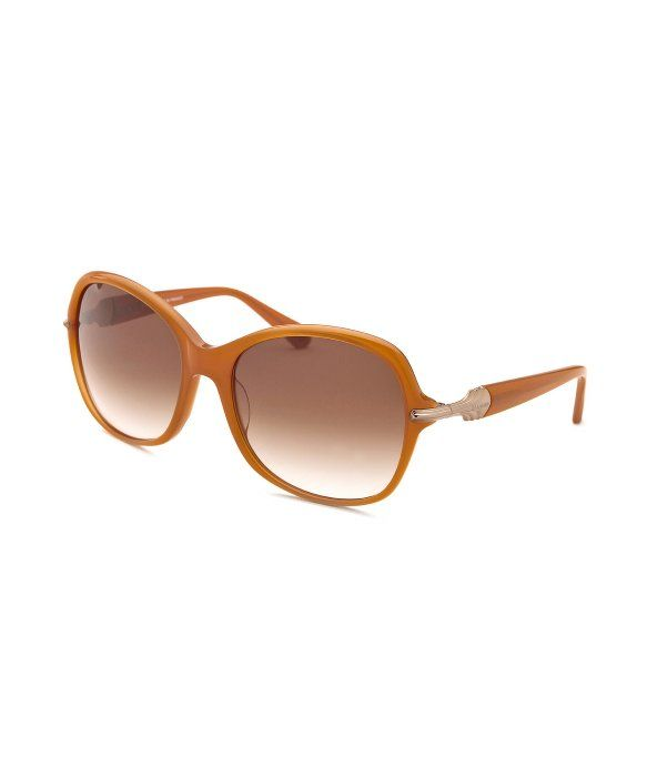 ac72f2e821e1 Balmain Women's Square Light Orange Sunglasses | Glasses | Light ...
