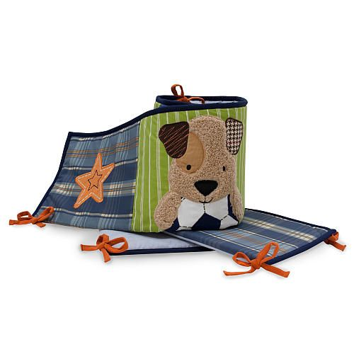 """Lambs & Ivy Bow Wow Bumper - Lambs & Ivy Bedtime - Babies """"R"""" Us"""