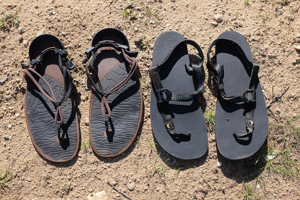 8a38bc13794 Minimalist Sandals Review  Xero Shoes Amuri Cloud vs. Luna Leadville Trail