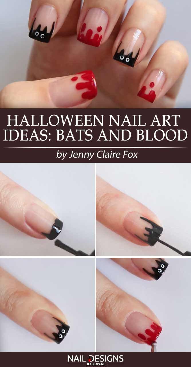 7 Halloween Nail Art Ideas Tutorials For Creative Beginners