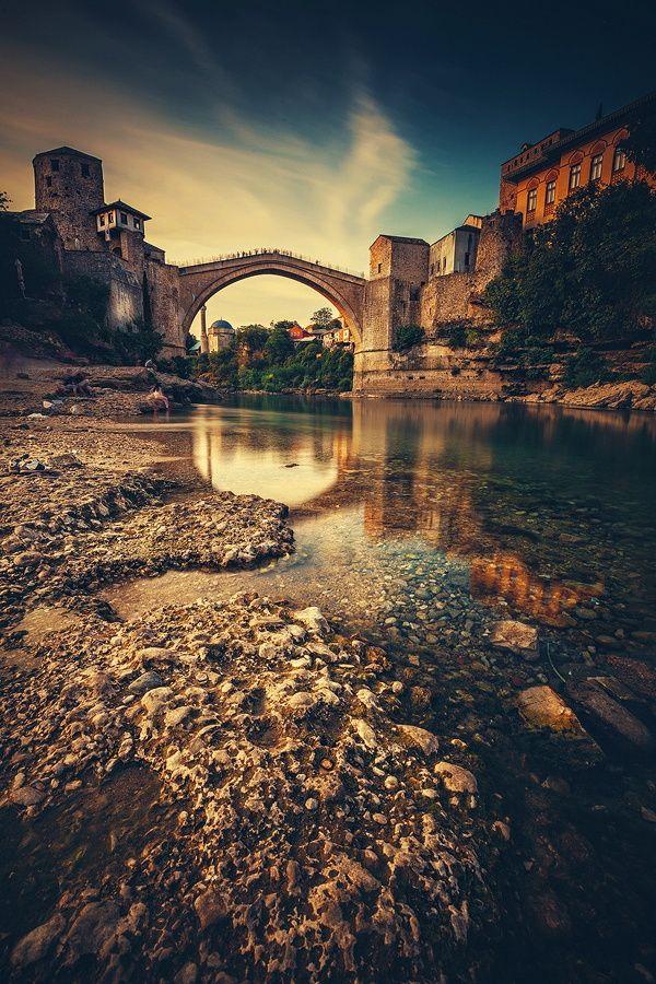 My Beautiful Homeland Old Bridge In Mostar Moja Mila Domovina Seyahat Alintilari Seyahat Fotografcilik