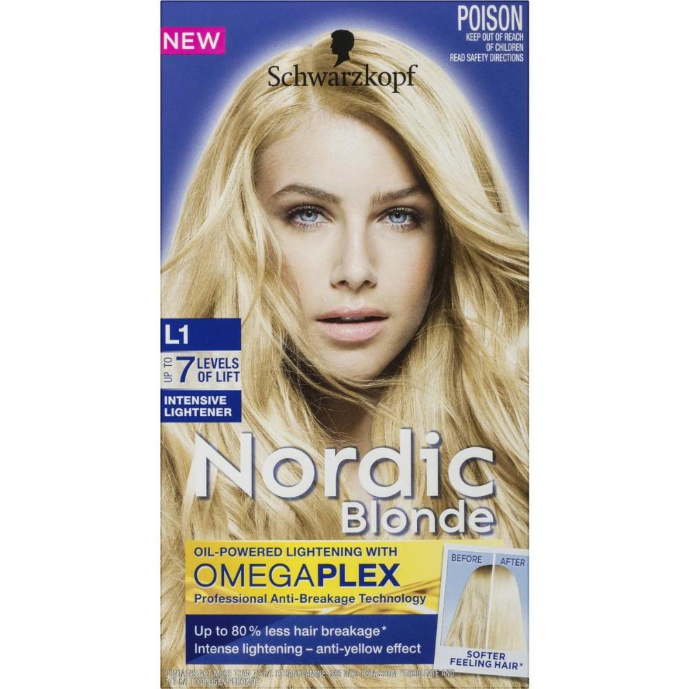 Schwarzkopf Nordic Blonde L1 Intensive Lightener Big W Nordic Blonde Schwarzkopf Blonde