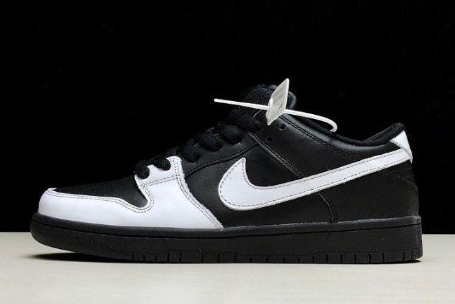 buy online e2cae 1950f Nike SB Dunk Low Premium Yin Yang Black White 313170-023