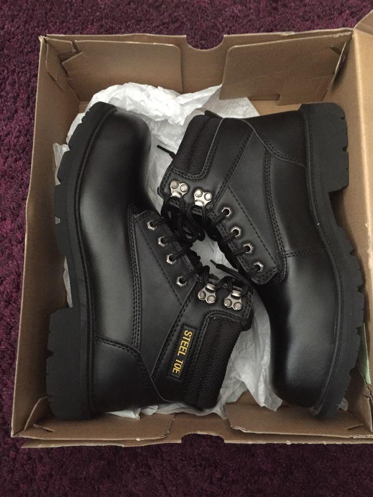 Men Boots Brahma Steel Toe Size 11