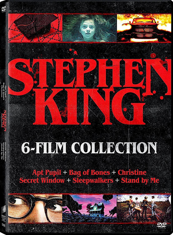 Stephen King 6 Film Dvd Collection Apt Pupil Bag Of Bones Christine Secret Window Sleepwalkers Stephen King Stephen King Movies The Stand Stephen King