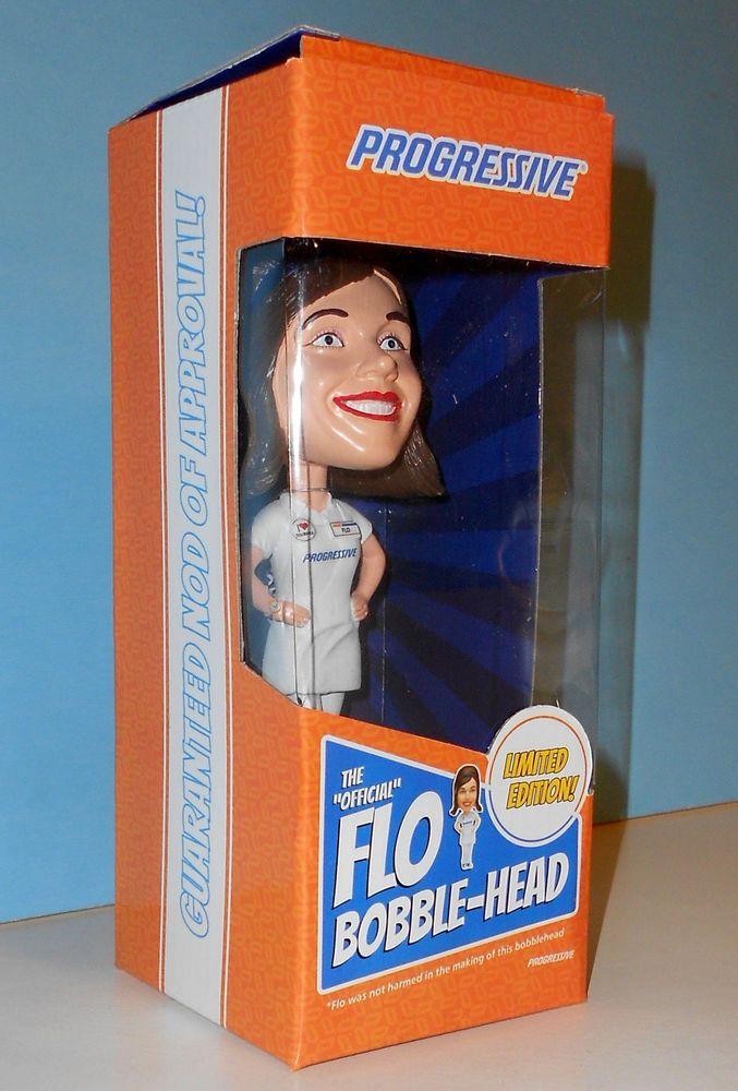 Progressive Insurance Talking Flo Limited Edition Bobblehead Doll